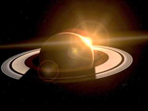 Saturn and Sun
